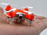 micro RC Quadcopter with Camera RTF