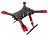 RakonHeli CNC Advanced Upgrade Kit 03 (Red) - Blade 350 QX/2/3