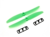 5030 250 Quad Green Racing Props (1 CW + 1 CWW)