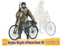German Bicycle w/Panzerfaust 60
