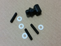Lite Machines 82232 TR hub w/screws, S2 plastic