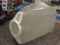 Fiberglass Cowl for a Carl Goldberg Ultimate Biplane