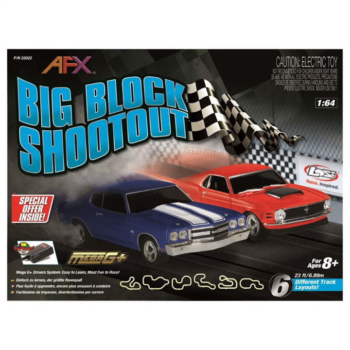 Big Block Shootout Set, 23ft Item No. AFX22022