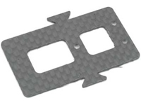 Align T-Rex 450 CF Battery Mounting Plate Black