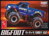 AMT805L/12 1/32 Big Foot Monster Truck Snap