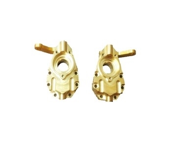Traxxas TRX-4  Brass Front Steering Knuckles (2), APS29002