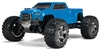Arrma Big Rock Crew Cab 4X4 3S BLX 1/10 RTR Brushless Monster Truck (Blue) w/Spektrum 2.4GHz Radio - ARA102723