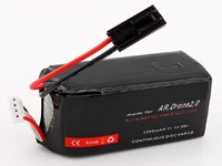 2500mAh 11.1V Li-po Battery for Parrot AR.Drone, Bebop