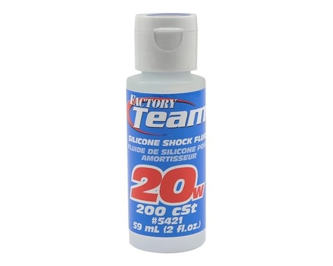 Team Associated 5421  Silicone Shock Oil (2oz) (20wt)