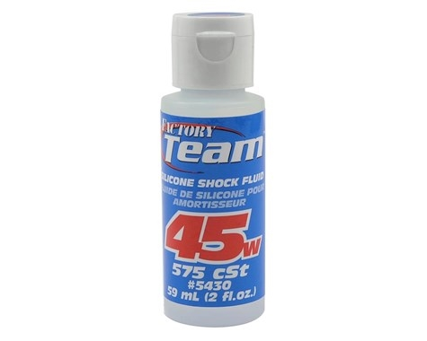 Team Associated Silicone Shock Oil (2oz) (45wt) ASC5430