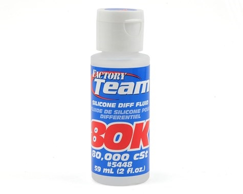 Team Associated Silicone Differential Fluid (2oz) (80,000cst) ASC5448