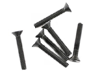 "Team Associated 4-40 x 3/4"" Flat Head Screw (6)"
