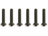 ASC7633 Button Head Socket Screw 4-40x5/8 (6)
