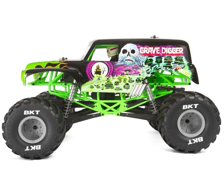 SMT10 Grave Digger 1/10th 4wd Monster Truck RTR AXI03019