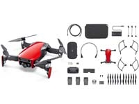DJI MAVIC AIR FLY MORE COMBO (NA) FLAME RED