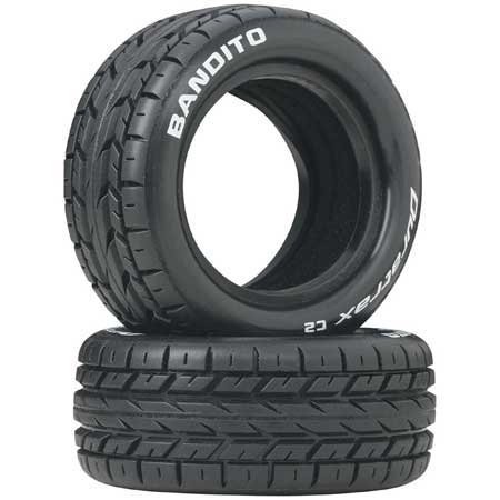 Bandito 1/10 Buggy Tire Front 4WD C2 (2)