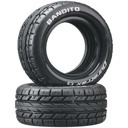 Bandito 1/10 Buggy Tire Front 4WD C3 (2)