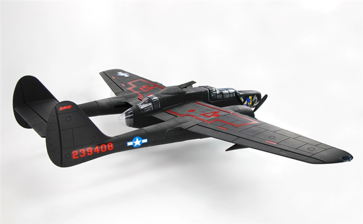 Dynam P-61 Black Widow 1500mm Wingspan - PNP
