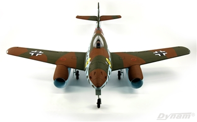 Dynam Me 262 Brown Twin 70mm EDF Jet - PNP