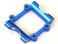 DYN8008B Alum Rear Pivot Block Blue Mini-T