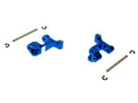 DYN8012B Alum Front Hub Carriers Blue Mini-T