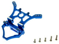 DYN8018B Alum Rear Shock Tower Blue Mini-T
