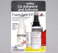 Dynamite Foam Safe CA, Thick 1oz with 2oz Activator - Combo Pack