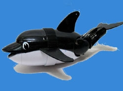 Robotic Fish Diving Dolphin, Black