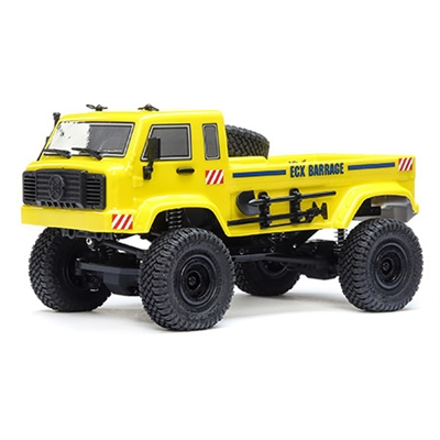 ECX Barrage UV Yellow RTR: 1/24 4WD Scaler Crawler,