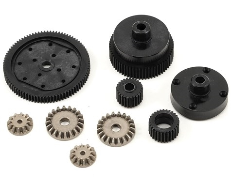 Transmission Plastic Gear Set: All ECX 1/10 2WD (ECX1022)