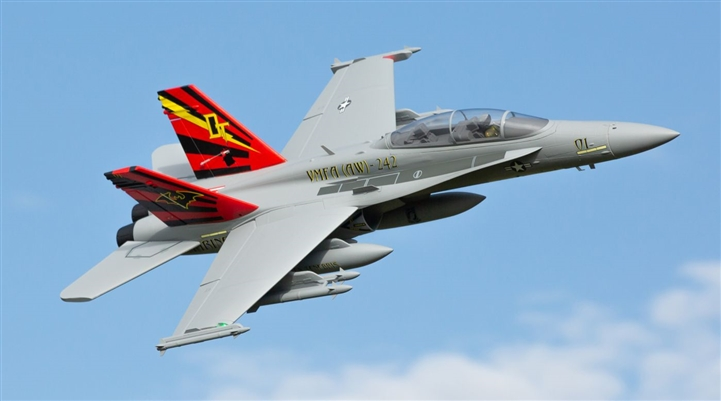 F-18 Hornet 80mm EDF BNF Basic with AS3X and SAFE Select (EFL3950)