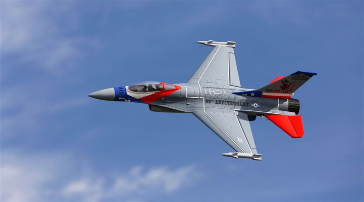 F-16 Falcon 64mm EDF BNF Basic with AS3X and SAFE Select (EFL9850)