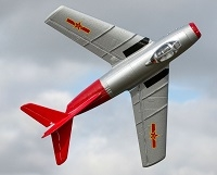 UMX MiG-15 28mm EDF Jet BNF Basic with AS3X and SAFE Select (EFLU6050)