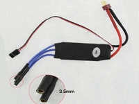 40 Amp Brushless Speed Controller 3A BEC for 2-3 Lipo
