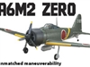 "Flyzone A6M2 Japanese Zero Select Scale Rx-R 45"" (FLZA4324)"