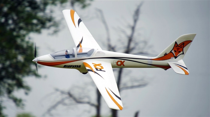 Fox 3000mm Aerobatic EP Glider PNP (FMM107P)