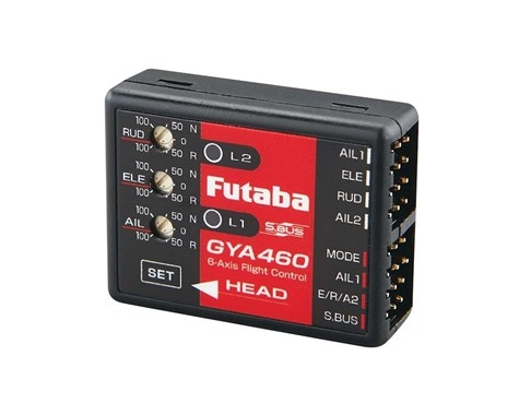 Futaba GYA460 6-Axis SBus Airplane Gyro Flight Sta