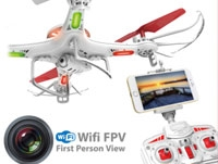 2.4G FPV HD WIFI Quadcopter