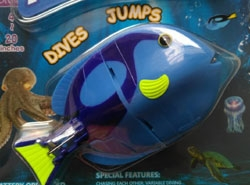 Flashfish Dives & Jumps, Blue