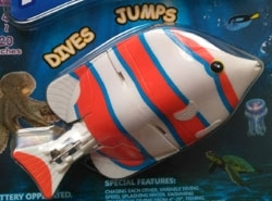 Flashfish Dives & Jumps, White/Blue/Red
