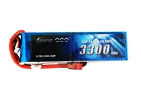 Gens ace 3300mAh 14.8V 25C 4S1P Lipo Battery Pack with Deans plug
