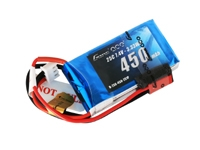 Gens ace 800mAh 7.4V 40C 2S1P Lipo Battery Pack with JST-SYP plug