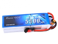 Gens ace 5500mAh 14.8V 45C 4S1P Lipo Battery Pack with Deans plug
