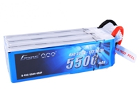 Gens ace 5500mAh 22.2V 45C 6S1P Lipo Battery Pack with Deans Plug