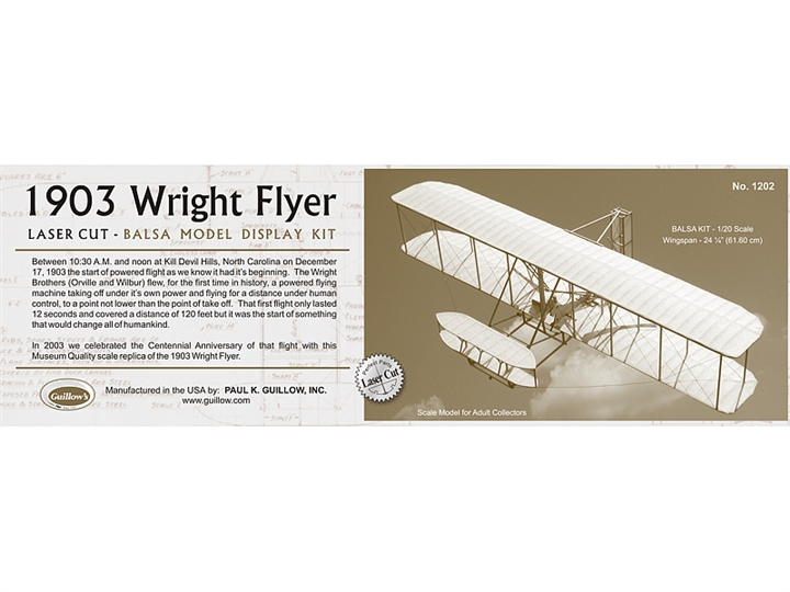 1903 Wright Brothers Flyer GUI1202