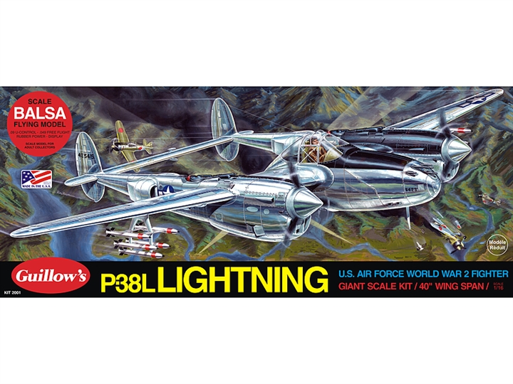 Lockheed P38 Lightning GUI2001