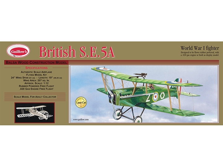 British SE 5A Laser Cut GUI202