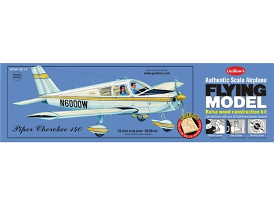 "Piper Cherokee 140, 20"" Flying Model Kit - 307LC"
