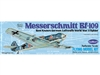 "Messerschmitt BF-109 16-1/2"" Flying Model Kit - GUI505"