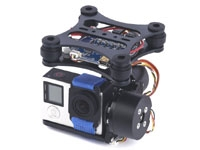2-Axis Brushless Camera Gimbal with Alexmos BGC V2.3b5
